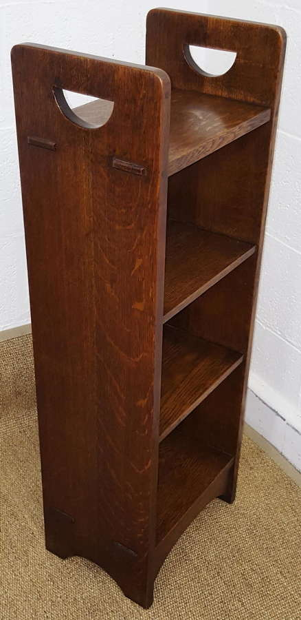 GUSTAV STICKLEY OAK BOOKCASE C1905