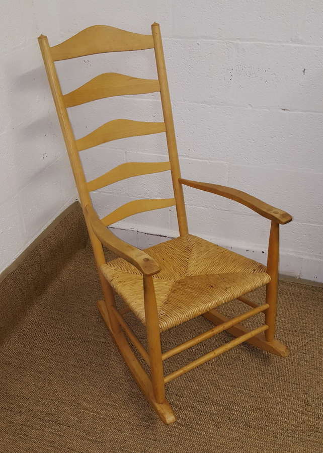 NEVILLE NEAL COTSWOLD SCHOOL ROCKING CHAIR