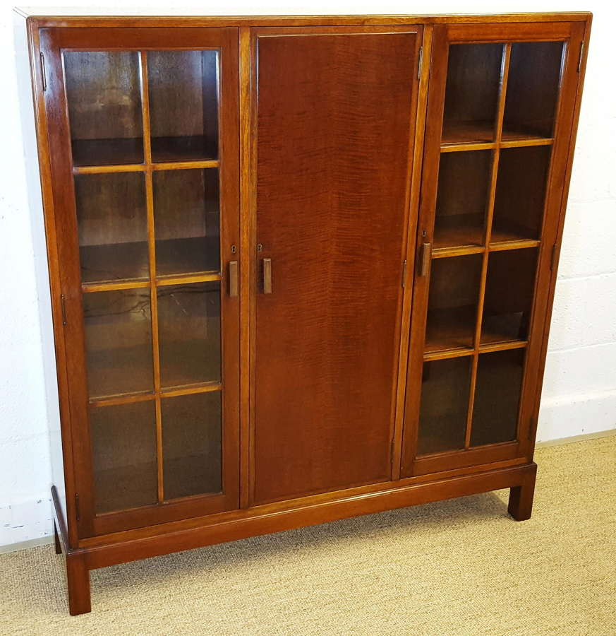 HEALS WALNUT BOOKCASE C1930