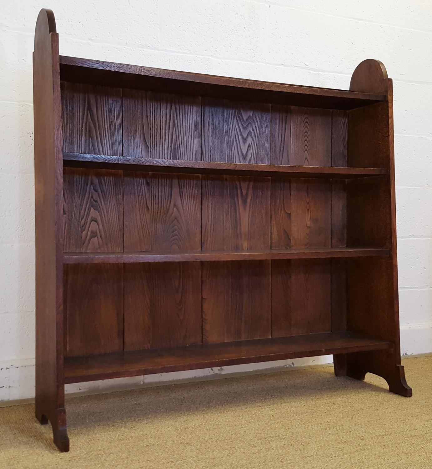HEALS LETCHWORTH OAK BOOKCASE C1910